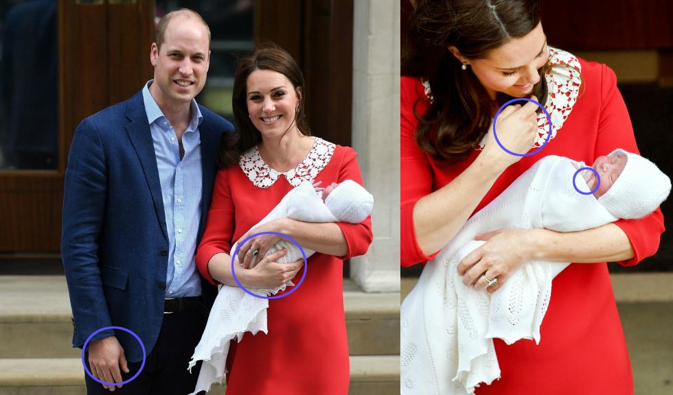 Experții în limbajul trupului analizează primele imagini cu Prințul William și Kate Middleton împreună cu bebelușul