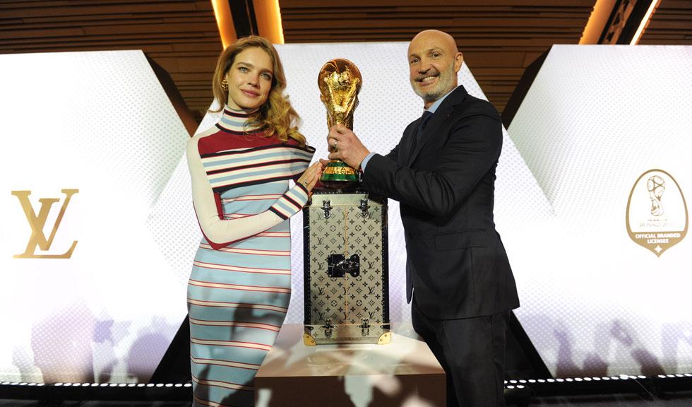 Colecție capsulă Louis Vuitton cu licență FIFA World Cup 2018