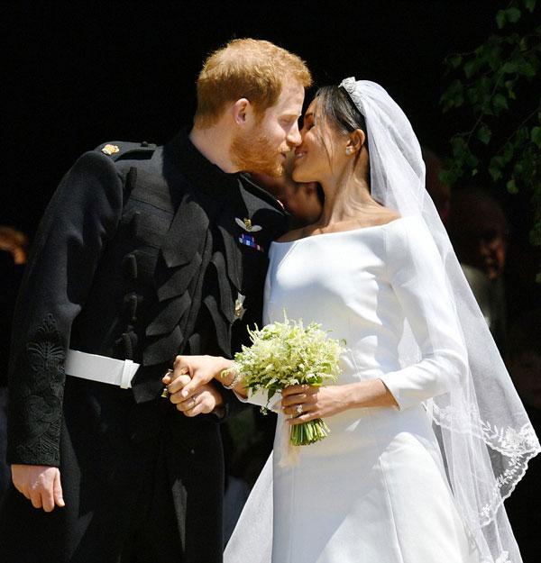 IMAGINI de la nunta Prințului Harry cu Meghan Markle