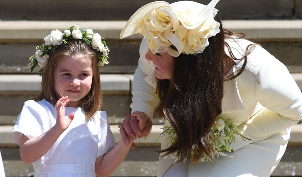 """Prințesa Charlotte a fost """"șefa"""" domnișoarelor de onoare de la nunta regală"""