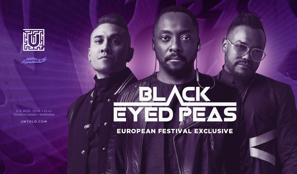 Black Eyed Peas concertează la UNTOLD