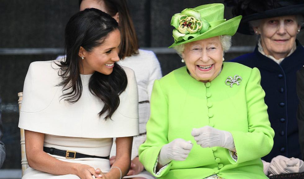 Cadoul special pe care Regina Elisabeta a II-a i l-a oferit lui Meghan, Ducesa de Sussex, pentru primul ei angajament oficial