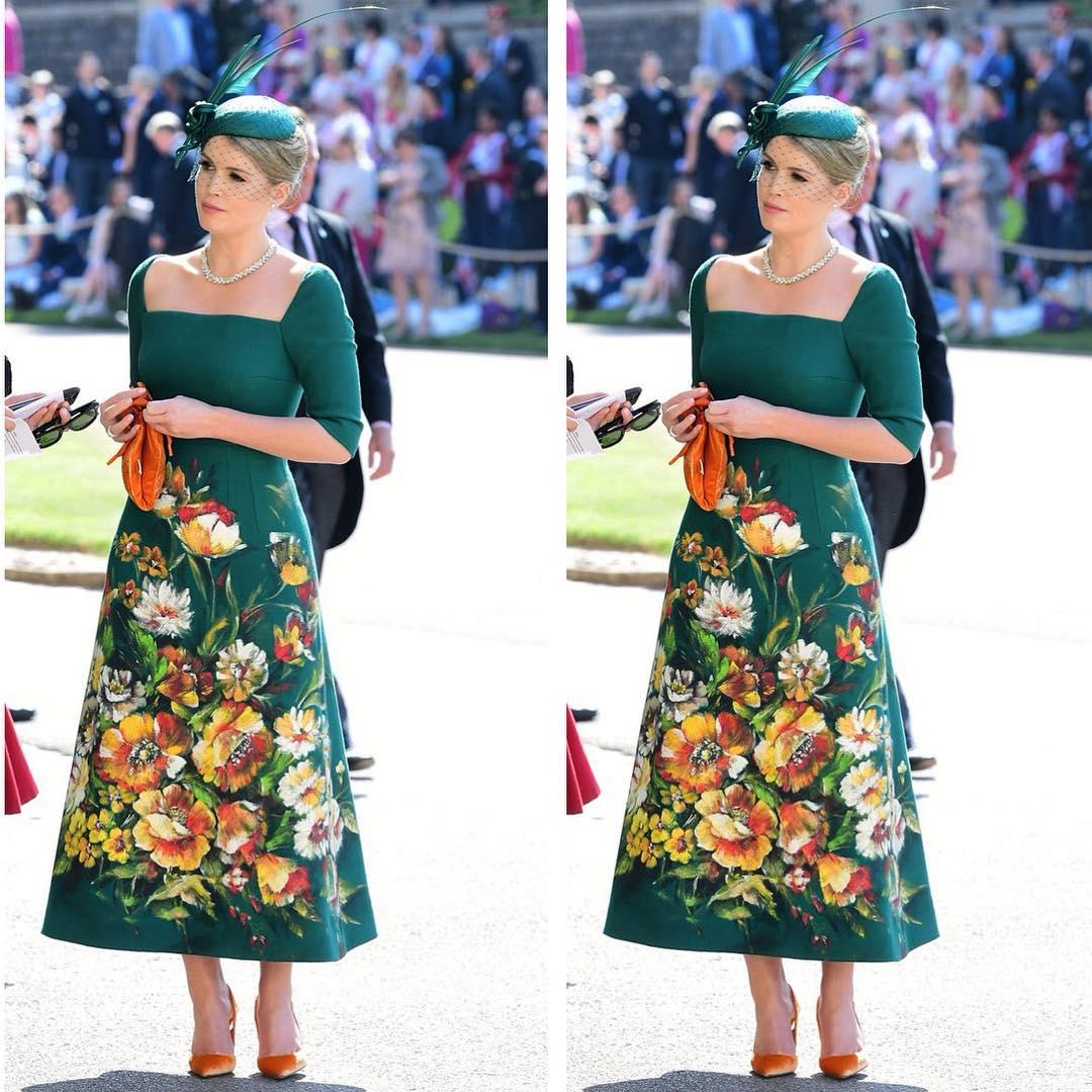 Lady Kitty Spencer, nepoata Prințesei Diana, este fashion icon-ul momentului, iar aceste imagini sunt dovada