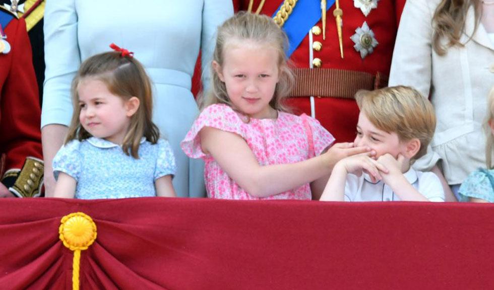 Cine este fetița, membru al familiei regale, care l-a făcut pe Prințul George să tacă