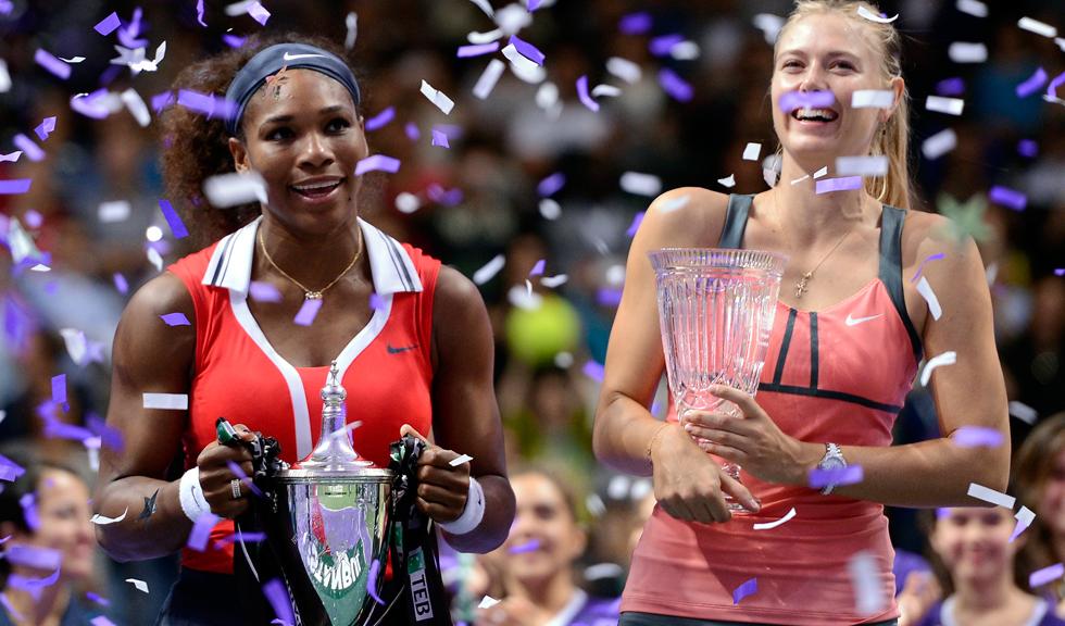 Serena Williams vs. Maria Sharapova: un meci pentru istorie, completat cu declarații războinice