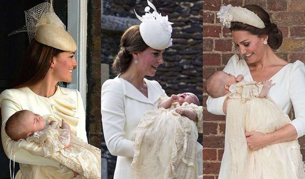 Asemănările și deosebirile dintre ceremoniile de botez ale Prințului George, Prințesei Charlotte și Prințului Louis