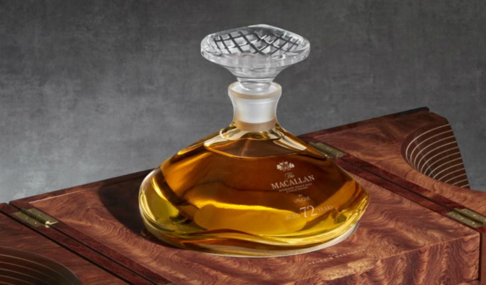 (P) Lansarea The Macallan 72 Years Old în Lalique – The Genesis Decanter