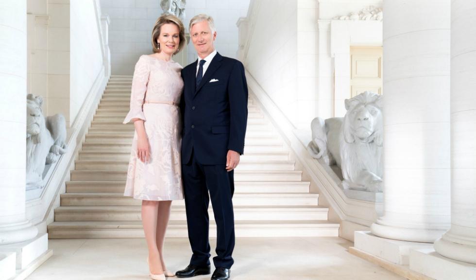 Portretele oficiale cu Regele și Regina Belgiei alături de copii lor sunt superbe