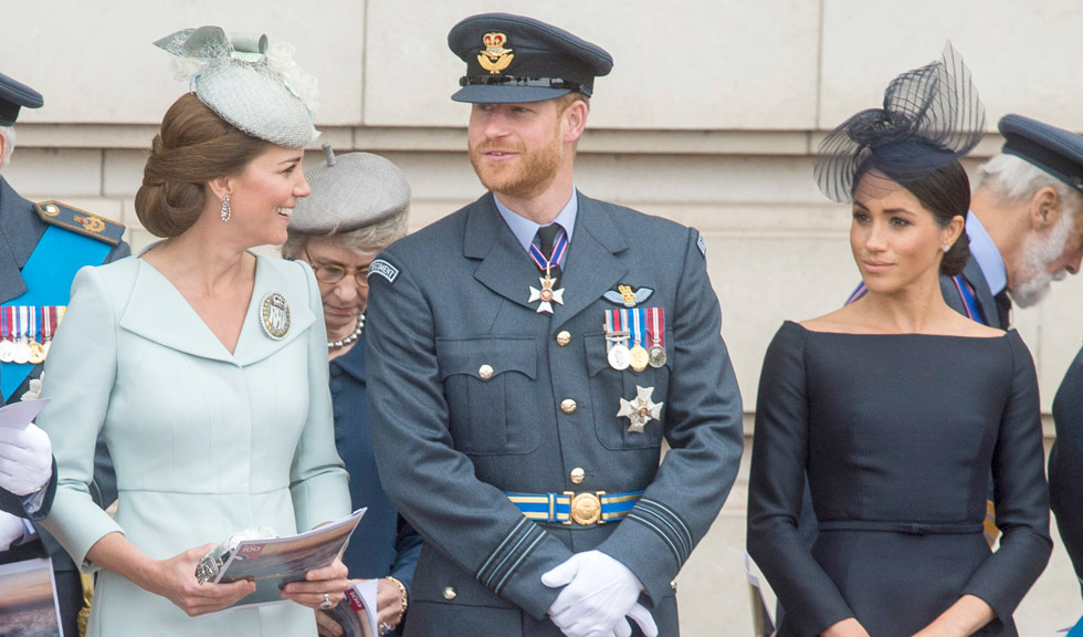 Prințul Harry i-a cerut acordul lui Kate Middleton pentru a se căsători cu Meghan Markle