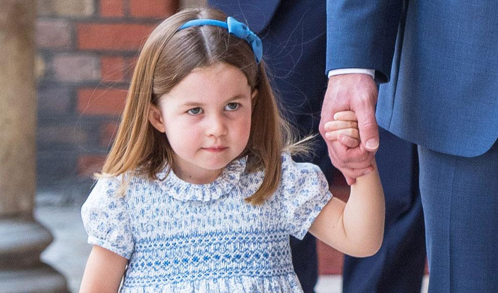 Prințesa Charlotte, în centrul atenției la botezul Prințului Louis