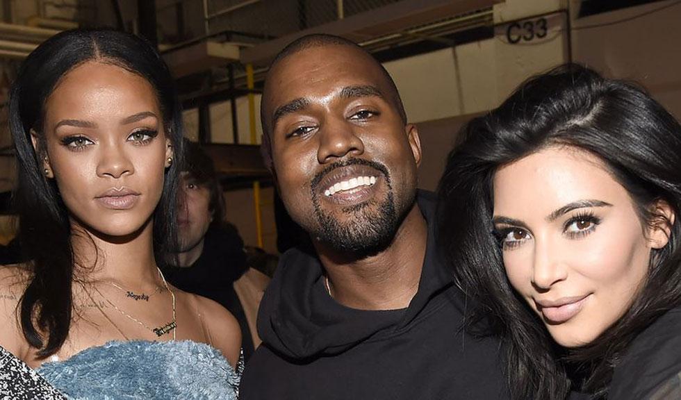 Kim Kardashian l-a surprins pe Kanye în timp ce o admira pe Rihanna, iar clipul a devenit viral