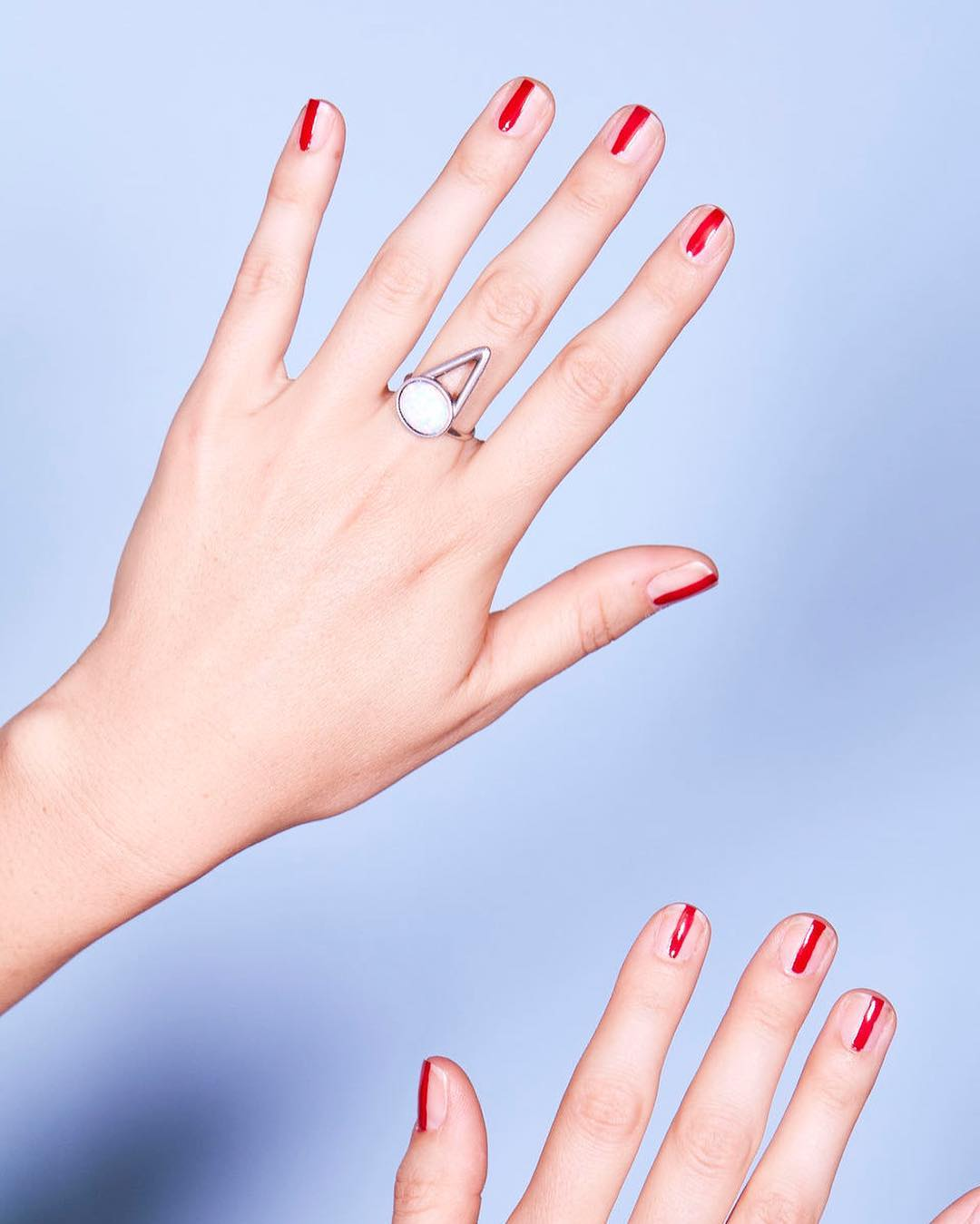 11 idei de manichiură care să facă unghiile scurte să pară mai lungi