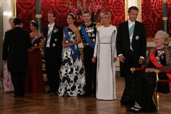 Brigitte Macron și Prințesa Mary a Danemarcei
