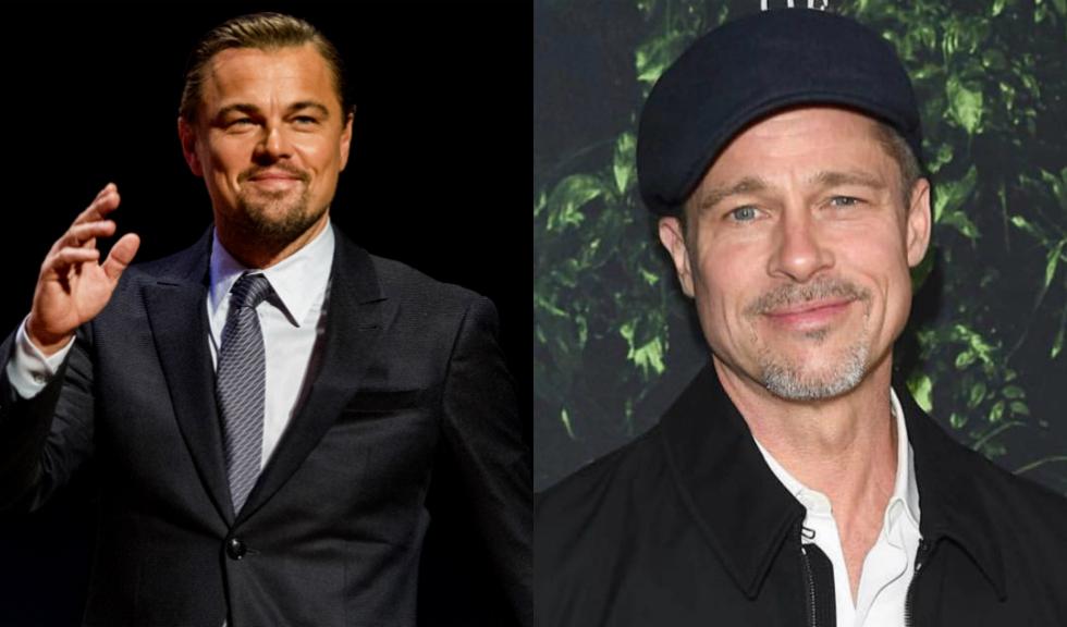 """Imaginea cu Leonardo DiCaprio și Brad Pitt din filmul """"Once Upon a Time in Hollywood"""" a fost modificată în Photoshop"""
