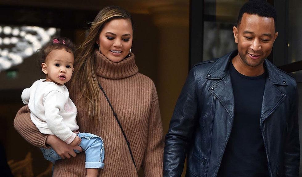 Luna, fiica lui Chrissy Teigen și John Legend, a început prima zi de grădiniță într-un mod neobișnuit