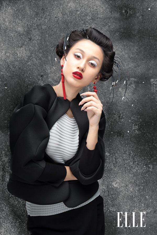 ELLE BEAUTY: Future geisha