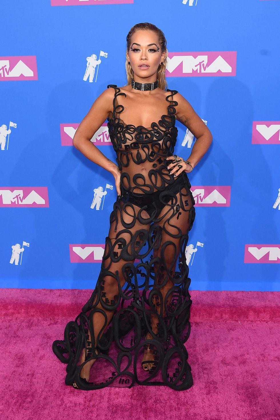 Cele mai sexy ținute la MTV VMA 2018 (GALERIE FOTO)