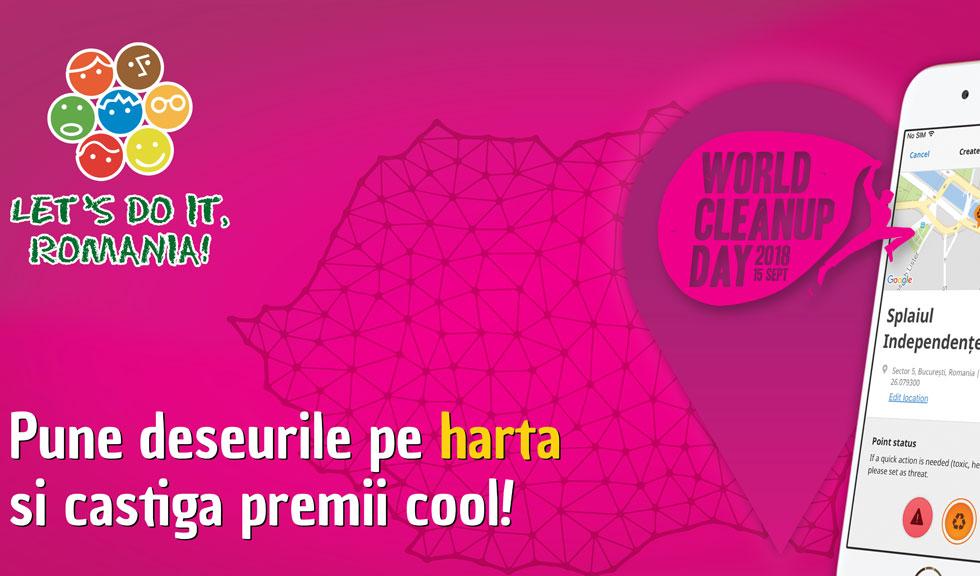 Participă și tu pe 15 septembrie la World Cleanup Day
