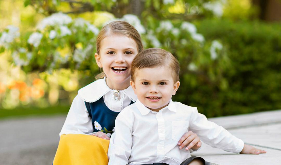 Prințesa Estelle a Suediei arată absolut adorabil în prima ei zi de școală