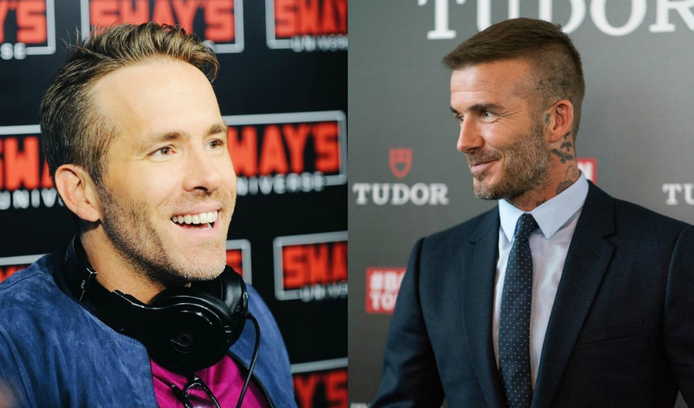 David Beckham flirtează cu Ryan Reynolds pe Instagram