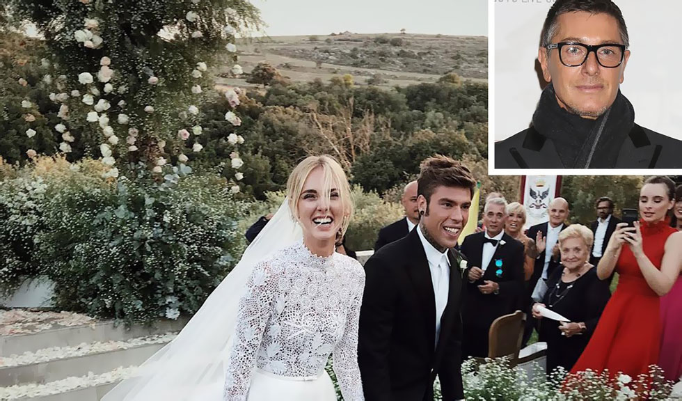 """Stefano Gabbana nu se abține, critică rochiile de mireasă purtate de Chiara Ferragni: """"Sunt IEFTINE!"""""""