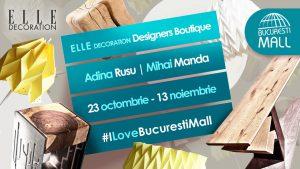 Lightplay și Brut Concept, la ELLE Decoration Designers Boutique