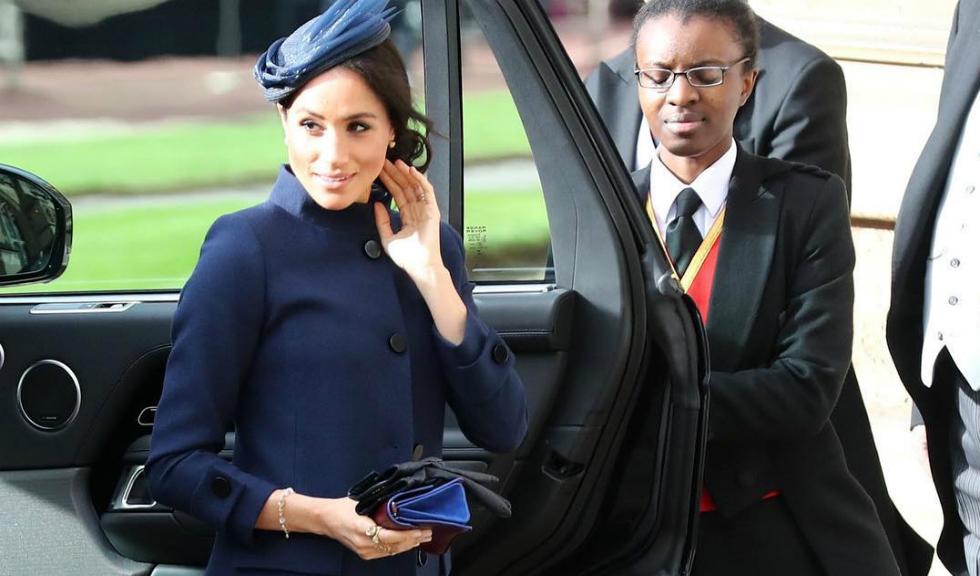 Ce ținută a purtat Meghan Markle la nunta Prințesei Eugenie