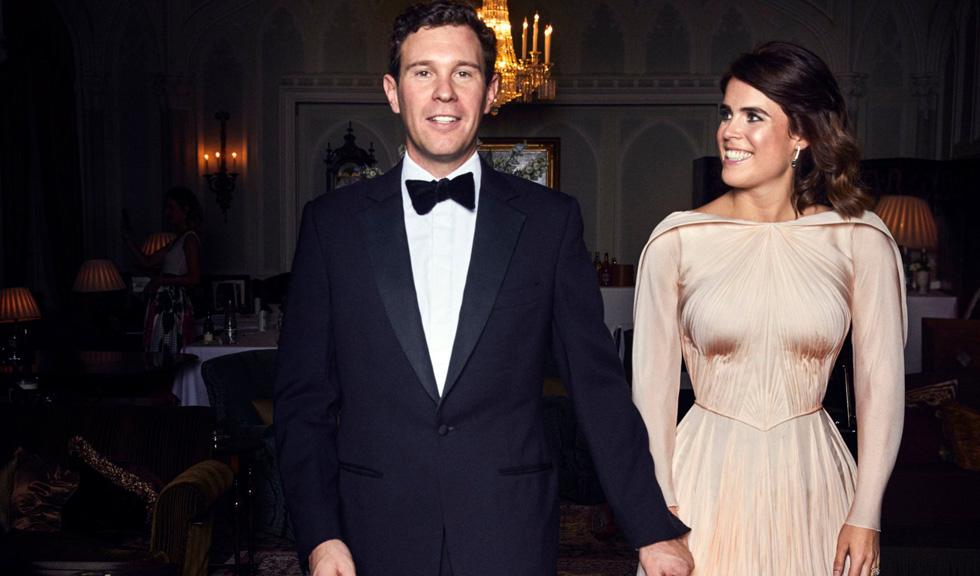 Prințesa Eugenie a încălcat tradiția regală cu rochia purtată la recepția din seara nunții