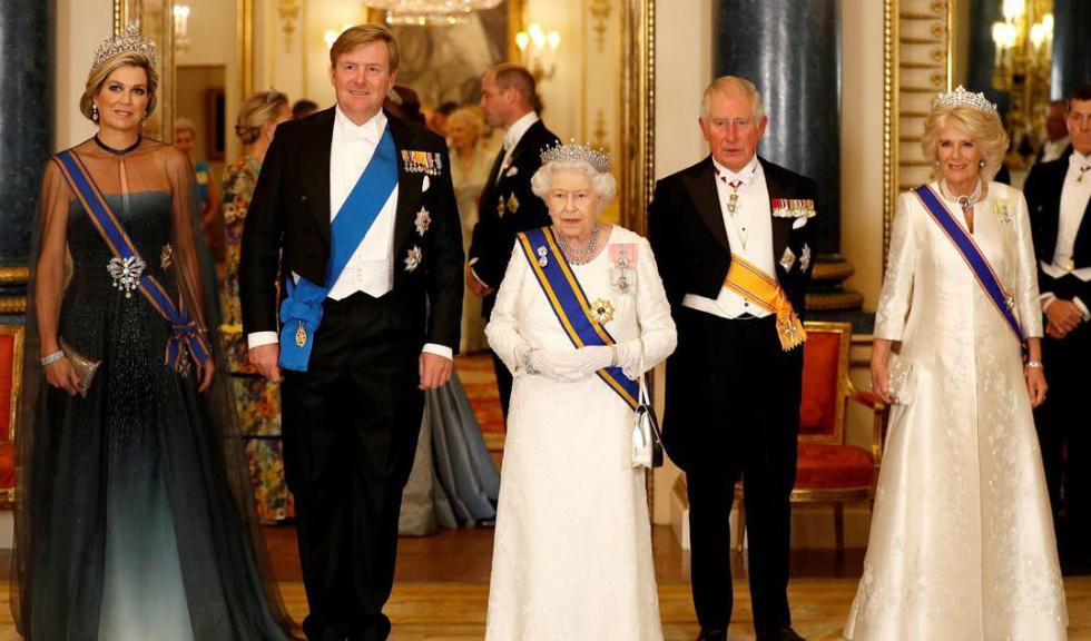 Regina Maxima și Regele Willem-Alexander, în vizită oficială în Marea Britanie