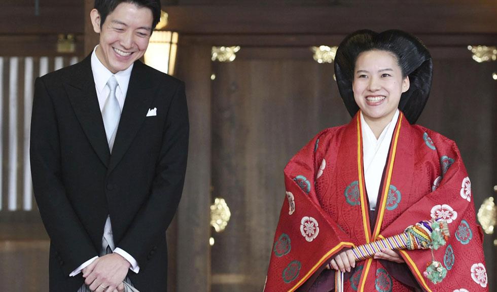 O prințesă japoneză a renunțat la titlul ei pentru a se căsători cu un om de rând