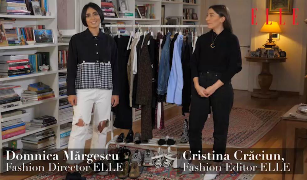 #ELLETeam: Cum să porți paltonul animal print, cu Domnica Mărgescu și Cristina Crăciun (VIDEO)