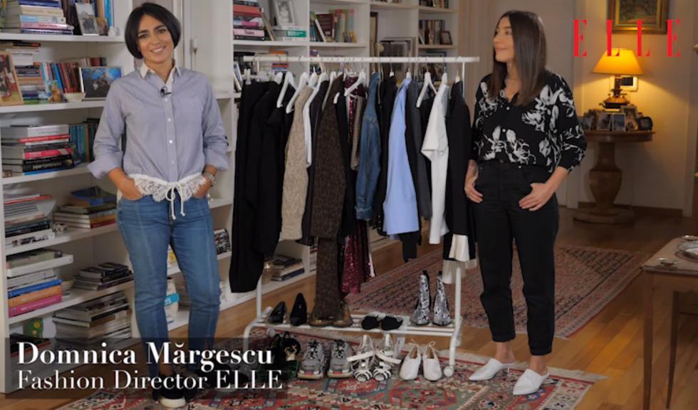 #ELLETeam: Cum să porți puloverul din cașmir, cu Domnica Mărgescu și Cristina Crăciun (VIDEO)