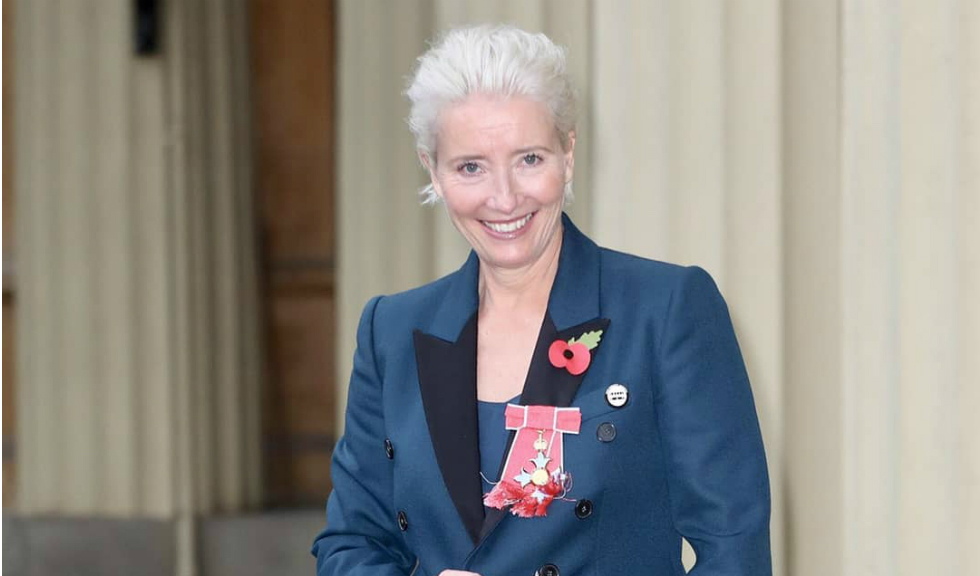 "Emma Thompson a fost onorată cu titlul ""Dame Commander of the British Empire"""