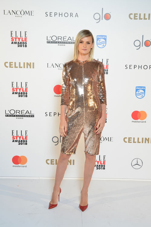 Top best dressed categoria Glitter @ELLE STYLE AWARDS 2018