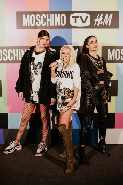 Vedete la lansarea colecției H&M[tv]Moschino