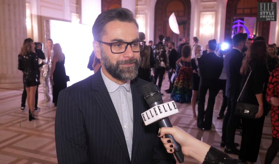 Marius Chivu, la ELLE Style Awards 2018 (VIDEO)
