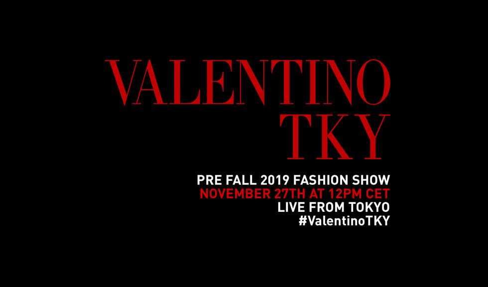 Vezi în direct prezentarea colecției Valentino Pre Fall 2019!