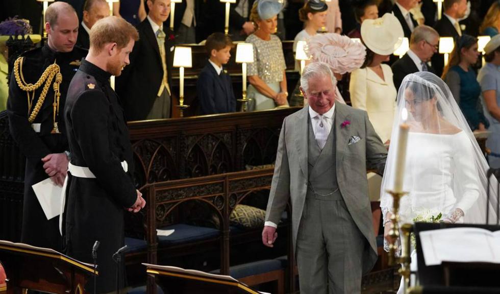 Prințul Harry a dezvăluit ce s-a întâmplat când i-a cerut Prințului Charles să o conducă pe Meghan Markle la altar
