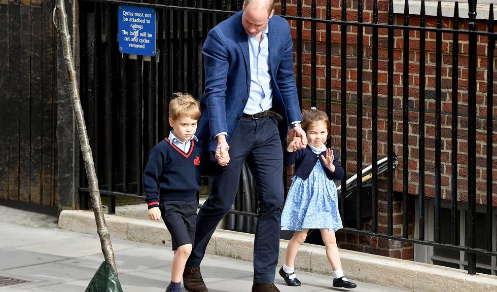 Porecla adorabilă primită de Prințul William de la George și Charlotte