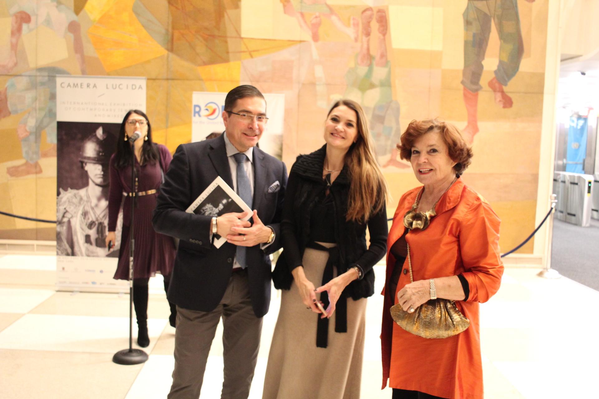 Designeri romani de bijuterie contemporana expusi la sediul ONU din New York