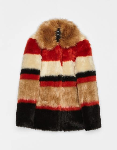 Cele mai stylish jachete și paltoane din blană ecologică
