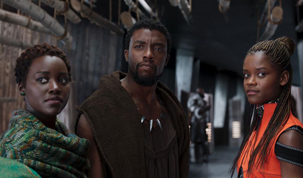 Starul feminin din Black Panther este regina box office-ului în 2018