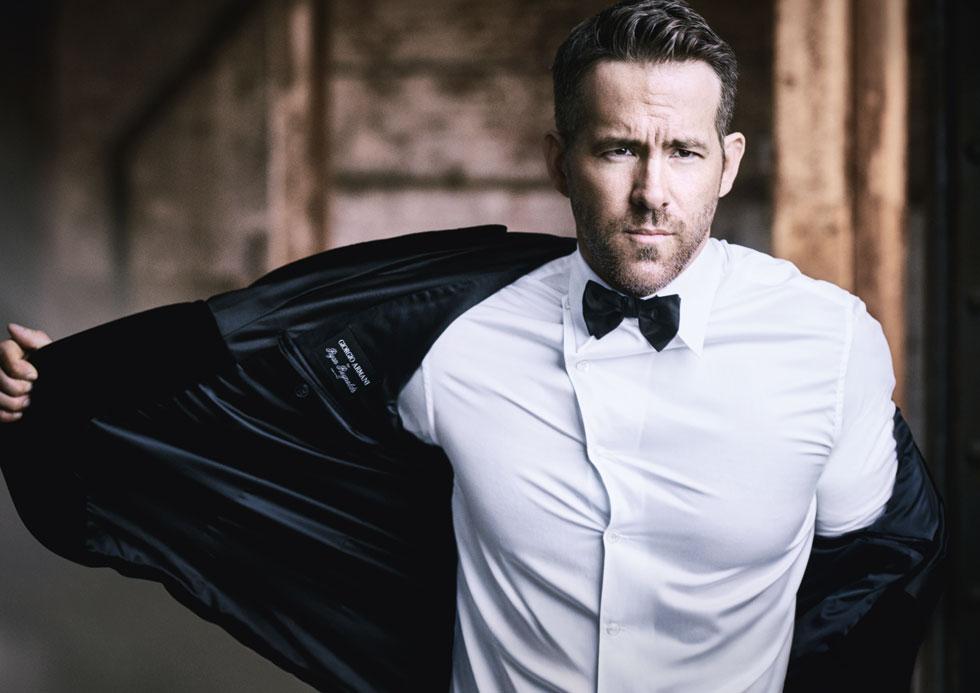 Ryan Reynolds, noua imagine a parfumurilor Armani Code