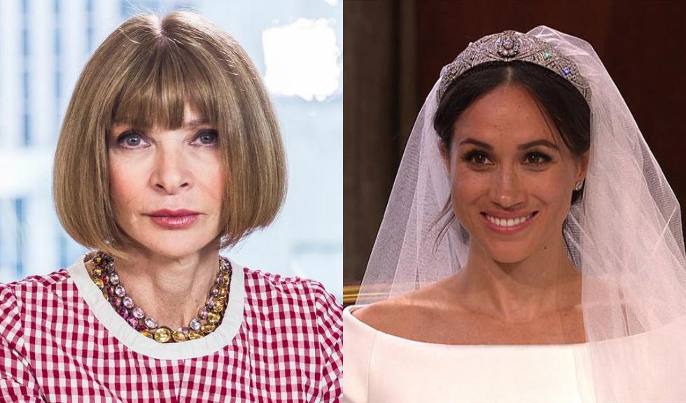 Ce crede cu adevărat Anna Wintour despre rochia de mireasă purtată de Meghan Markle