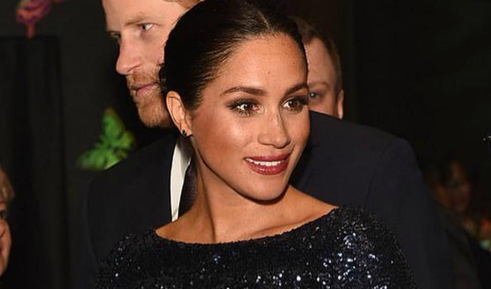 Meghan Markle îi aduce un omagiu Prințesei Diana, purtând o superbă rochie din paiete