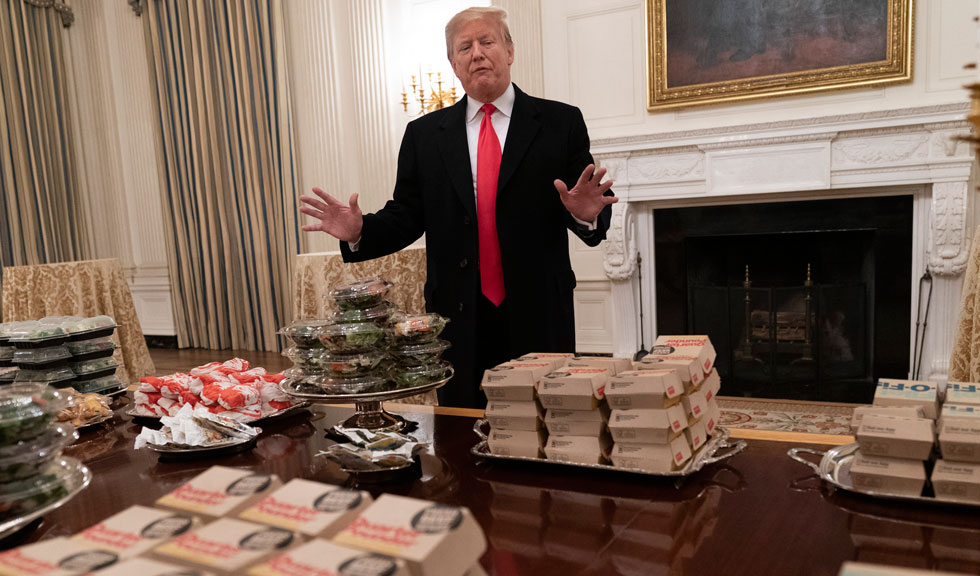 Donald Trump, nominalizat la Premiile Zmeura de Aur 2019
