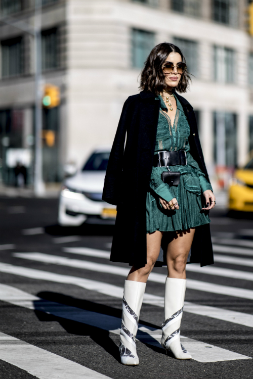 Best streetstyle looks @ Săptămâna Modei de la New York Fall/Winter 2019