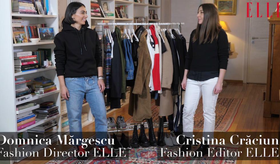 #ELLETeam: Cum să porți puloverul de schi, cu Domnica Mărgescu și Cristina Crăciun (VIDEO)