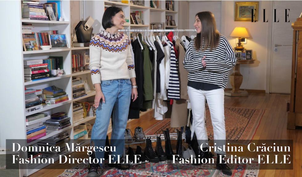 #ELLETeam: Cum să porți sacoul în dungi, cu Domnica Mărgescu și Cristina Crăciun (VIDEO)