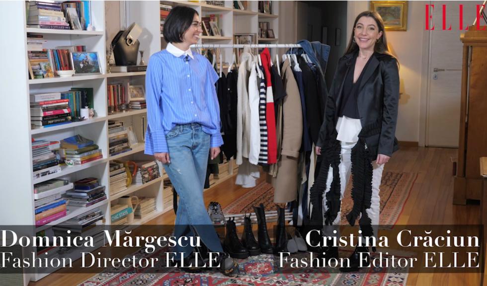 #ELLETeam: Cum să porți sacoul alb, cu Domnica Mărgescu și Cristina Crăciun (VIDEO)